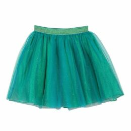 Catimini Tutu Petticoat In Coloured Glitter Tulle