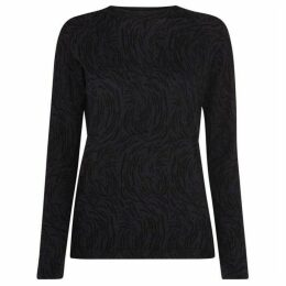 Whistles Animal Printed Knit