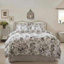 Cabbages and Roses Paris rose oxford pillowcase pair