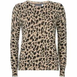 Mint Velvet Leopard Print Knit