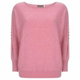Mint Velvet Bubblegum Rouleaux Knit