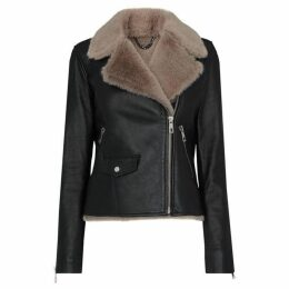 Whistles Faux Fur Lined Agnes