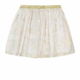 3 Pommes Kid Girl Pale Gold Skirt