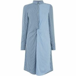Oasis Stripe Twist Shirtdress
