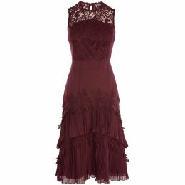 Coast Ros Tiered Lace Dress
