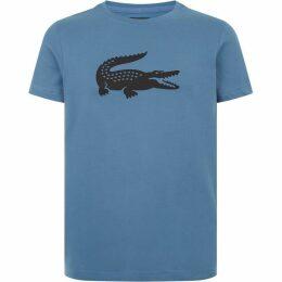Lacoste Sport Oversized Crocodile Technical Jers