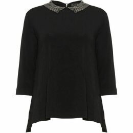 Phase Eight Eliora Embellished Collar Knit