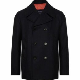Tommy Hilfiger Short Double Breasted Peacoat