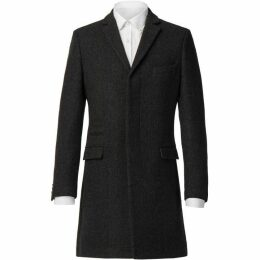 Racing Green Charcoal Texture Overcoat