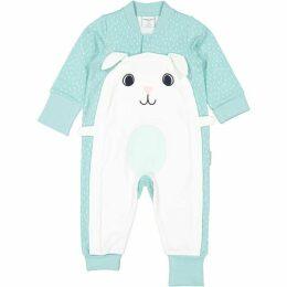 Polarn O Pyret Babies Bunny Applique Romper