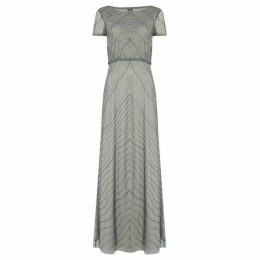 Adrianna Papell Short-sleeve Gown