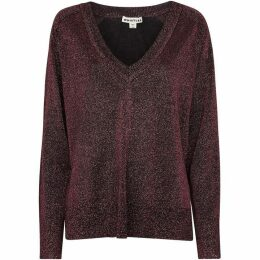 Whistles V Neck Sparkle Knit