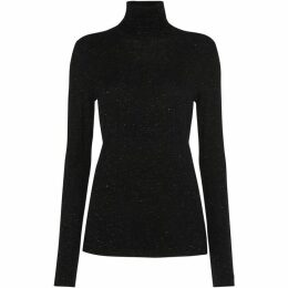 Whistles Annie Sparkle Polo Neck Knit