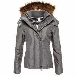 Superdry Hooded Faux Fur Sherpa Wind Attacker