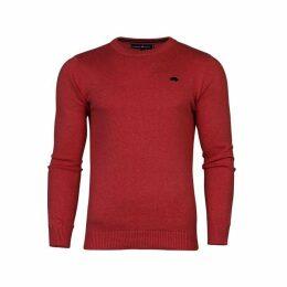 Raging Bull Big & Tall Cotton Crew Sweater