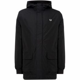 Fred Perry Stockportlight Long Length Overcoat