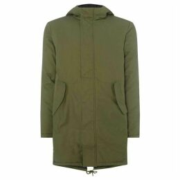 Native Youth Zip Up Hooded Parka