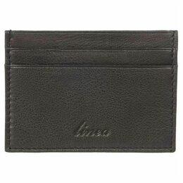 Linea Grain Leather Card Holder