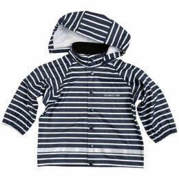 Polarn O Pyret Babies Striped Raincoat