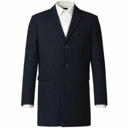 Limehaus Aiden Slate Blue Overcoat