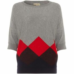 Phase Eight Angeletta Argyle Knit