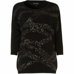 Phase Eight Rachelle Rope Sequin Knit
