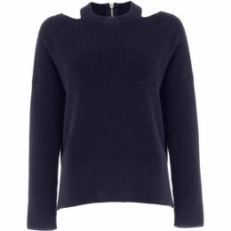 Phase Eight Cammi Cut Neck Chunky Knit