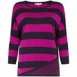 Phase Eight Devonna Mix Stripe Knit