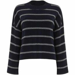 Phase Eight Francina Stripe Flared Sleeve Knit