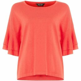 Phase Eight Daisi Double Frill Sleeve Knit