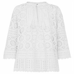 Whistles Maggie Broderie Blouse