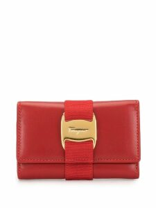 Salvatore Ferragamo Pre-Owned Vara Six Hooks Key Case - Red