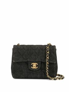 Chanel Pre-Owned quilted chain shoulder bag - Grey