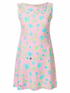 Chanel Pre-Owned floral print dress - Pink