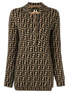 Fendi Pre-Owned Long Sleeve Tops - Brown