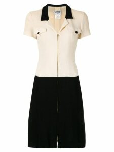 Chanel Pre-Owned zip-front dress - Neutrals