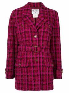 Chanel Pre-Owned Long Sleeve Jacket - Purple