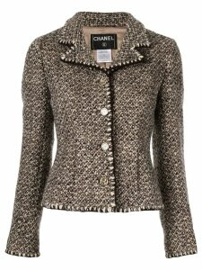 Chanel Pre-Owned Long Sleeve Jacket - Brown