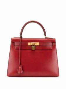 Hermès Pre-Owned Kelly 28 Sellier hand bag - Red