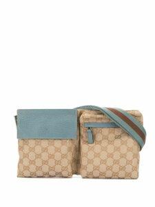Gucci Pre-Owned GG Pattern Waist Bum Bag - Neutrals