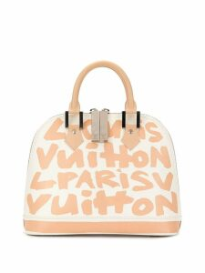 Louis Vuitton Pre-Owned Alma MM tote - White