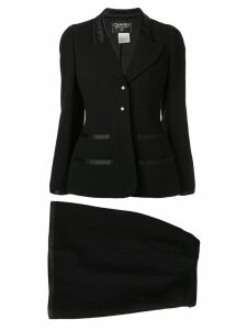 Chanel Pre-Owned jacket and skirt suit - Black