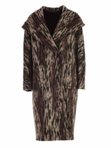 Tagliatore Coat Double Breasted W/hood