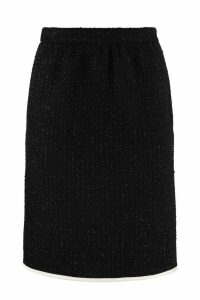 Boutique Moschino Bouclé Wool Skirt