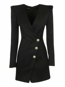 Balmain One Side Buttoned Dress