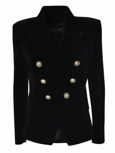 Balmain Embellished Button Blazer