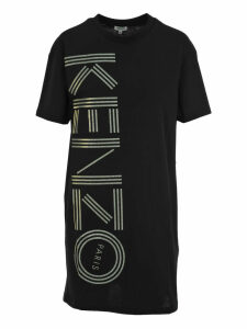 Kenzo Logo Print T-shirt Dress