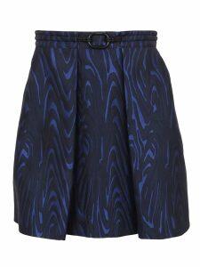 Kenzo Structured Short Skirt