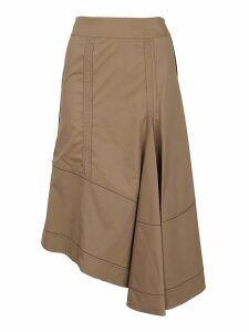 3.1 Phillip Lim High Waisted Flare Skirt