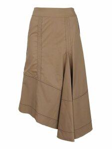 3.1 Phillip Lim High Waisted Flare Skirt